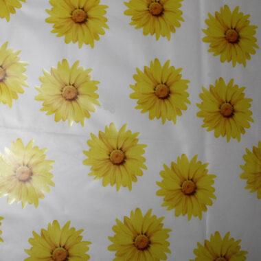 Sunflower Raincoat Waterproof Fabric