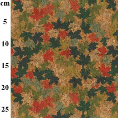 Maple Leaf Cork Fabric