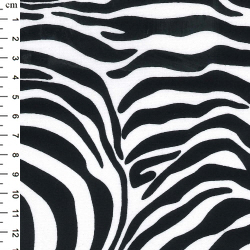 Zebra Rose and Hubble Cotton Fabric