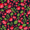 Bri Flower Rose and Hubble Cotton Fabric