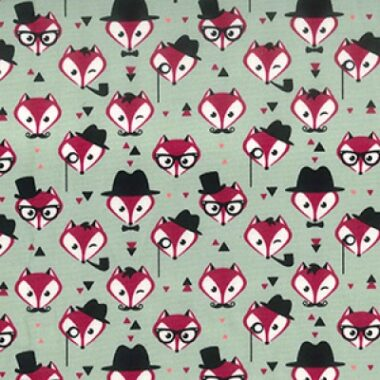 Rose And Hubble Foxy Cotton Fabric