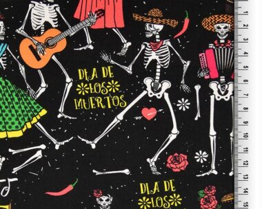 Fiesta Mexican Digital Cotton Fabric