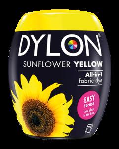 Dylon machine Dye Sunflower Yellow