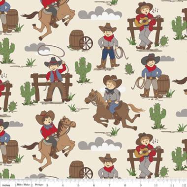 Cowboy Country Main Riley Blake Cotton Fabric