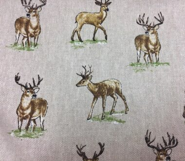 Linen Stag Fabric