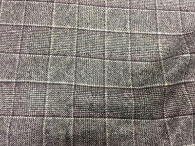 Mottled Wool Check SR054 Fabric
