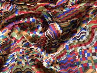 Pima Bauhaus Cotton Lawn Dress Fabric