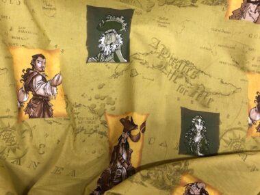 Disney Pirates Fabric