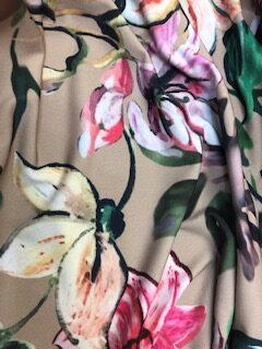 Mink Portia Jersey John Kaldor Fabric