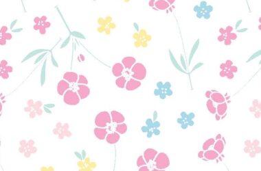 Miffy Flowers Cotton Fabric