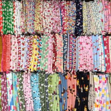 10 Cotton Fat Quarters Selection