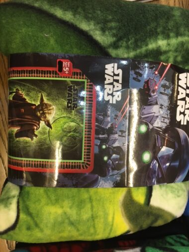 Yoda Star Wars No Sew Fleece Blanket