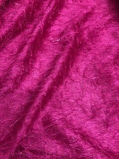 Cerise Spangle Fabric