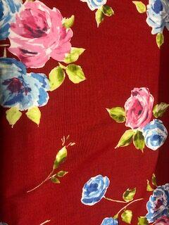 Red Roses Prestigious Curtain Fabric