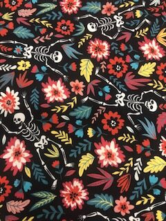 Skelton Digital Cotton Fabric