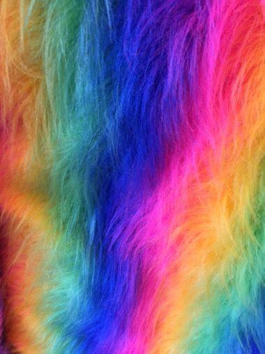Long Hair Rainbow Fur