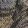 San Roman Chevron Sequin Dress Fabric Missoni Style