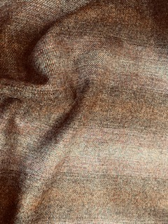 Pure New Wool Check Fabric