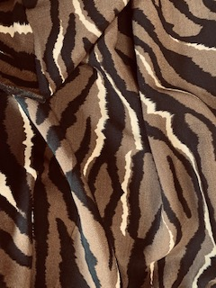 Skin Print Viscose Dress Fabric