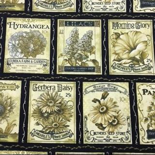 Garden Vintage Blocks Benartex Bristol Bay Studios