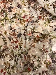 Floral Voile Dress Fabric