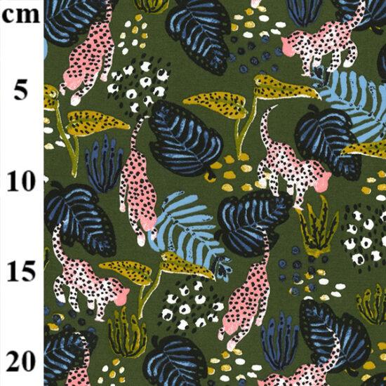 Wild Life John Louden Modal Elastane Jersey Fabric
