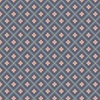 Libertys The Summer House Square Grey Fabric Collection
