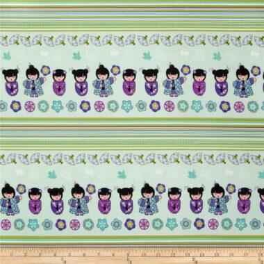 Cherry Blossom Festival Stripe Benartex