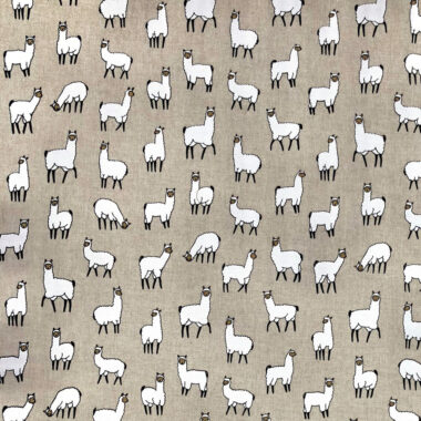 Alpacas Linen Look Canvas Fabric