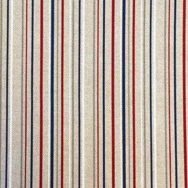 Linen Nautical Stripe Fabric