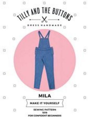 Mila Dungarees Sewing Pattern Tilly and The Buttons