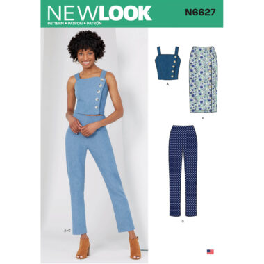 New Look 6627 Womens Sewing Pattern