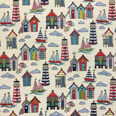 New World Marine Sea Tapestry Fabric