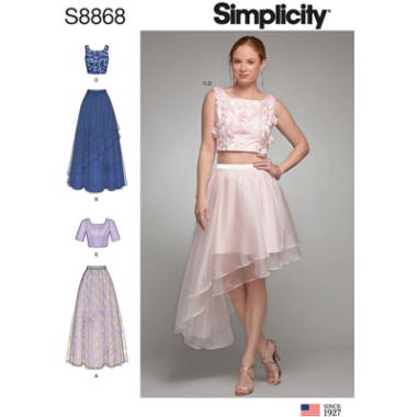 Simplicity 8868 Sewing Pattern