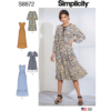 Simplicity Sewing Pattern 8872 Misses Pullover Dress