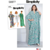 Simplicity Sewing Pattern S8877 Misses Caftan