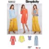 Simplicity Sewing Pattern S8892 Misses Casual Sportswear