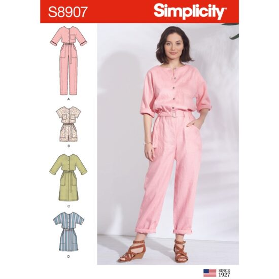 Simplicity 8907 Jumpsuit Sewing Pattern