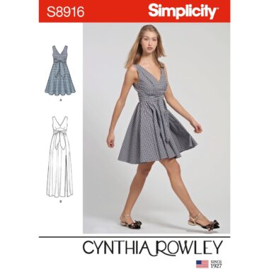 Simplicity Sewing Pattern S8916 Misses Dresses