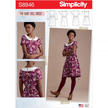 Simplicity Sewing Pattern S8946 Misses Dresses