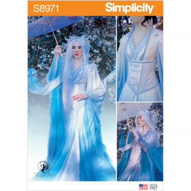 Simplicity Sewing Pattern S8971 Misses' Fantasy Costume