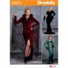 Simplicity Sewing Pattern S8973 Misses' Halloween Costume