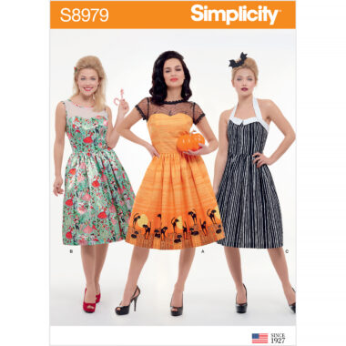 Simplicity Sewing Pattern S8979 Misses' Classic Halloween Costume