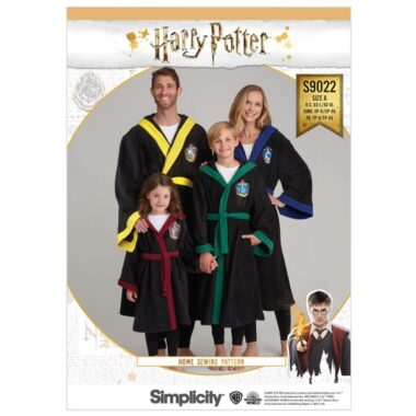 Simplicity Sewing Pattern S9022 Harry Potter Unisex Robes