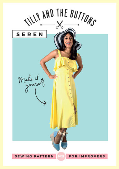 Seren Dress Tilly and The Button Sewing Pattern
