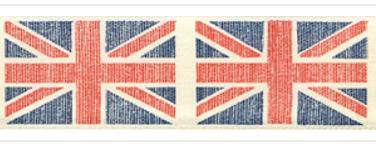 Vintage Flag Ribbon