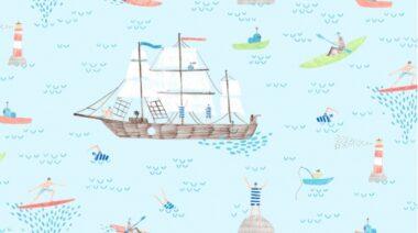 Pier Pressure Ahoy Matey Dear Stella Fabric