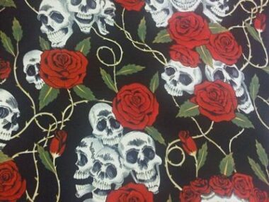 Alexander Henry Type Cotton Fabric Roses