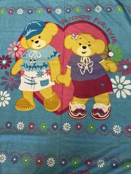 Build A Bear Quilt Panel