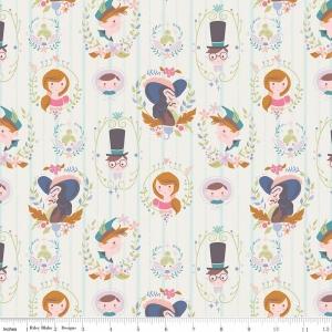 Neverland Darling Family Wall Peter Pan Fabric